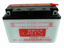 Green brand maintenance free mf motorcycle battery 12v 3ah