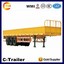 China High Quality 3 Axles 40Tons Cargo Trailer Motorcycle