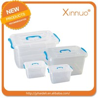 Plastic storage container with wheel Big size plastic food storage container cheap