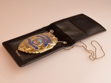 Leather / Plastic / PVC Armband Lanyard ID Card Badge Purse Wallet Holder