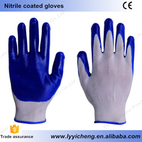 S M L size nitrile working gloves large producing and wholesale overseas industry farming felling mining