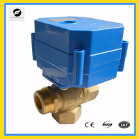 CWX-60P water electric switch water valve for IC card water meters,heat energy meters and reuse of rainwater