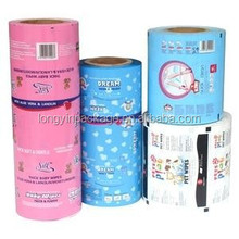 plastic packing film roll/food packing film/film packaging