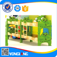 2015Highest quality comfortable children plastic double bed for sale(YL 0692)
