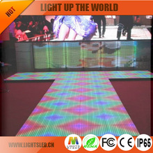 stage floor tile screen led text display P6.44 flash led light free download