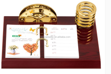 Customized High Quality Calendar/desk Set/gift,Wooden Gifts/crafts