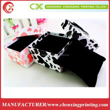 DSIGNING EUROPE JEWELRY GIFT PAPER BOX COLOR PACKAGING BOX FOR WATCH
