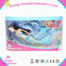 2015 chaoshan Hot sale promotion high quality fashion nice small mermaid dolls