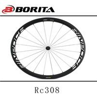 Carbon aero wheels tubular carbon 50mm 26 wheel carbon 4 spoke wheels 700c