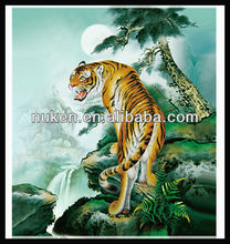Special design lenticular 3d picture of tiger wholesale