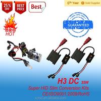 H3 Factory Wholesale High Quality auto car Headlamp HID Xenon Conversion Kit, HID Xenon Lamp, HID Xenon