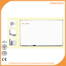Dry erase wall mounted magnetic whiteboard