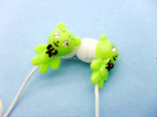 new design anime headphone for mp3 earbuds