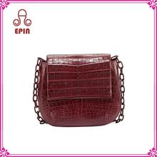 EPB-0103 Guangzhou hand bag factory custom woman satchel bag 2016