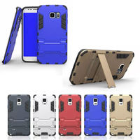 High Quality Heavy Duty Protective Hard Covers for Samsung Galaxy S6 with Kickstand,for Samsung Galaxy S6 Case