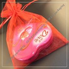 Newest fashion organza tropical gift bags