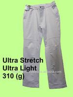 pantalon pants 100% polyester lightweight stretch pants
