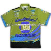 racing team pit crew shirt