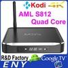 Kodi TV Box Aluminum Dual Band 2.4ghz / 5ghz Wifi Quad Core Android TV Box