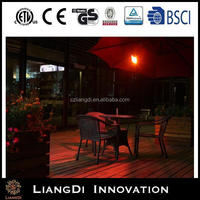 Quartz Low Glare Patio Outdoor Electric Infrared Wall Mounted Umbrella Heater