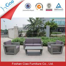 Popular rattan furniture recliner sofa sets