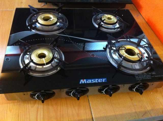 4 estufa de gas de la hornilla quemador de gas cocina for Estufas de cocina de gas