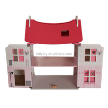 Hot sell baby wooden doll house