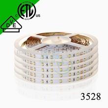 2015 high brightness 3528 led strip 5mm width DC12V 3528 led strip 5mm width