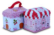 Hot sale house shaped money tin box