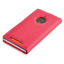 Wallet PU Leather Flip Case Cover For Microsoft Lumia 830