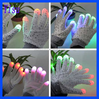 Brand New Lighting Flashing Gloves LED Diamond Gloves