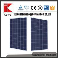 Good price high efficiency monocrystalline 250w 30v solar panels for solar system