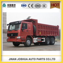 sinotruck howo 6*4 340hp dump truck sinotruk synchronizer/3tons light truck for sale