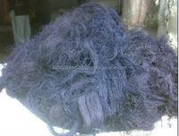 100% Cotton Blue Denim Thread Waste