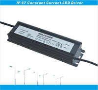 Rubycon capacitor 5 years warranty led driver waterpoof ip67 constant current 250W led power driver dc 30-36V