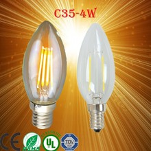 PD Lamp italian alibaba led diamond e14 C35 4W led filament candle bulb/led c37 candle light