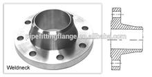 Alta calidad precio bajo del acero inoxidable WN weld neck flange