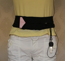 adjustable (velcro or buckle)running belt for phone
