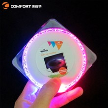 2015 new hot selling led illuminated cup mat