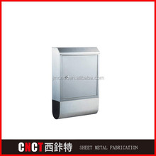 freestanding waterproof stainless steel commercial mailboxes