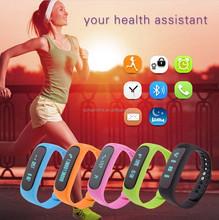 Healthy Assistant Bluetooth 4.0 Sports Intelligent Wearable Bracelet Swity E02 smart bracelet