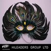 KL105 beautiful design feather mask with high quality wholesale