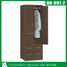 Assemble Wood & Steel Modern Bedroom Wardrobe/Cabinet/Closet
