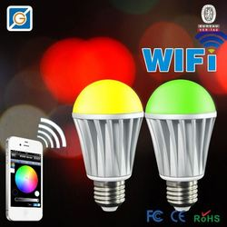 WiFi 194/t10 wedge led bulb play by SmartPhone