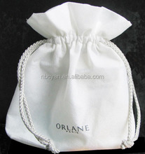 Different material drawstring bag washable shopping drawstring bag small size drawstring bag from China