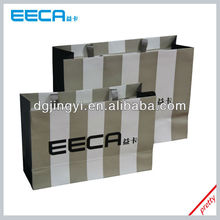 2015 Fashionable Stripe Paper Shopping Bag