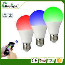 RGBW led lighting bulb E27 Mi.light wifi bulb with most competitive price