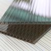 pc four wall polycarbonate roof sheet / twin wall polypropylene sheet