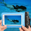 Hot sale pvc phone waterproof case/bag wirh straps for iphone htc Samsungfor swimming