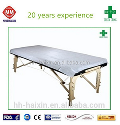Medical Disposable Bed Sheets/Bed Cover for hospital